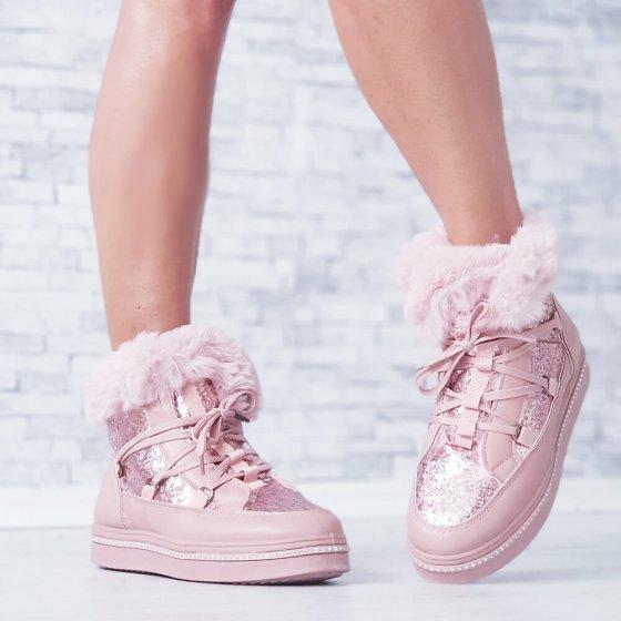 Čizme Sparkle roze