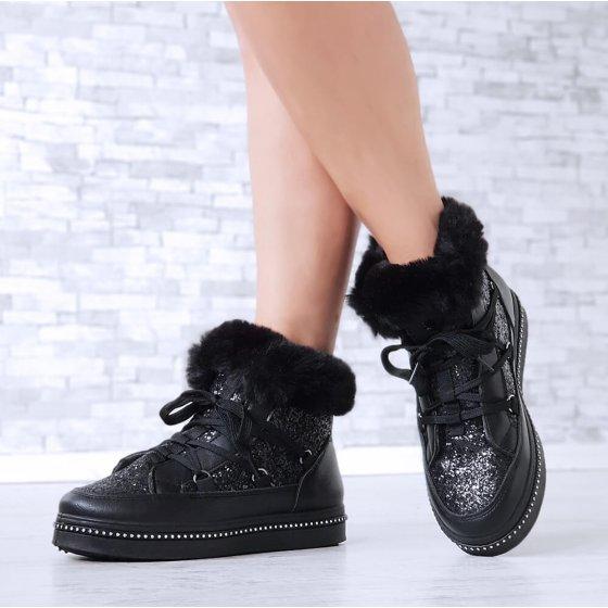 Čizme Sparkle crne