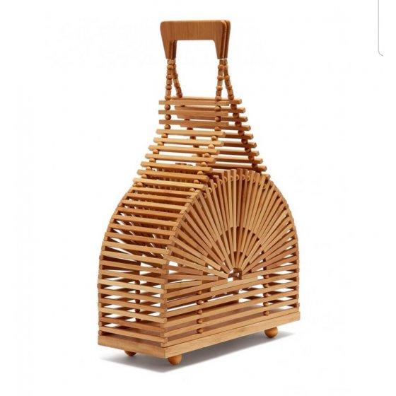 Torba Bambus polukrug