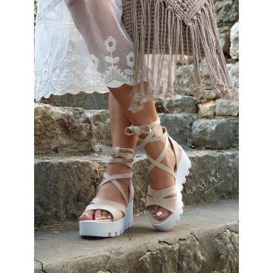 Sandale Angel beige