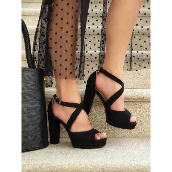 Sandale Renee crne