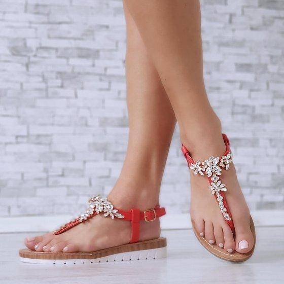 Sandale Abby crvene