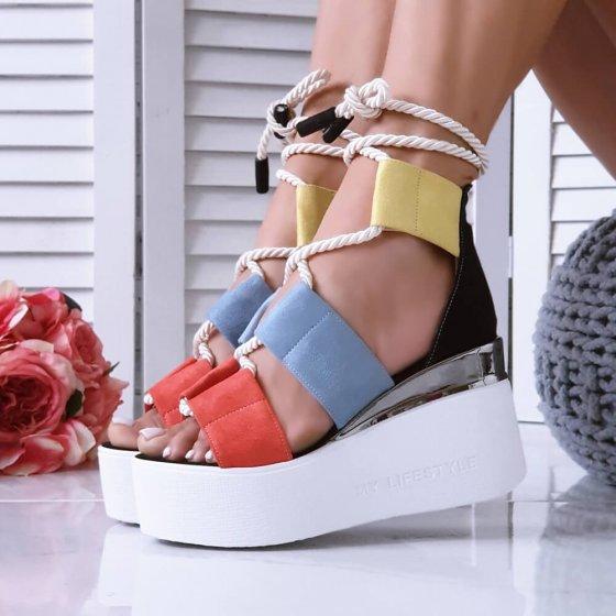 Sandale Perla šarene