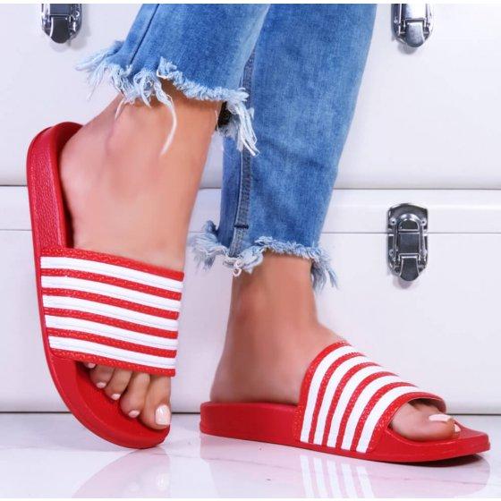 Natikače Stripes crvene