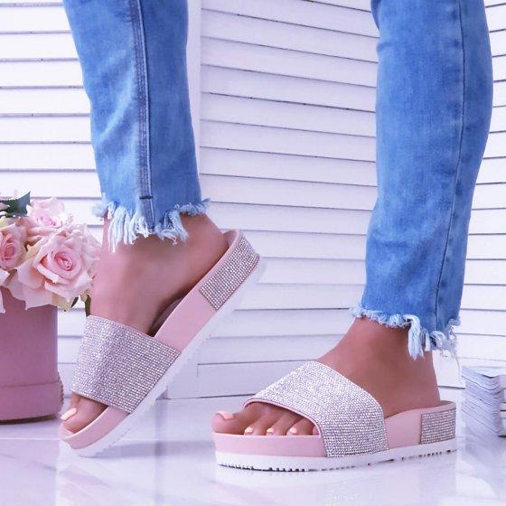 Natikače Shimmer roze