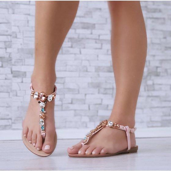 Sandale Julia roze