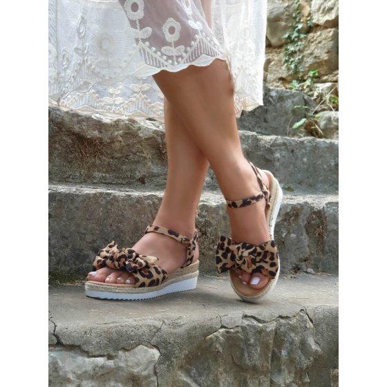 Sandale Saint leopard