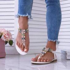 Sandale Shanti bijele