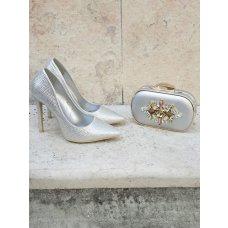 Cipele Diamond srebrne