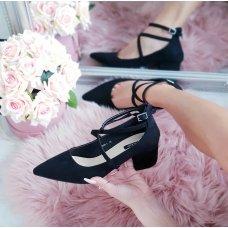 Cipele sa remenčićima crne