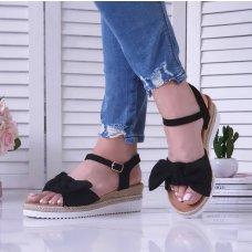 Sandale Saint crne