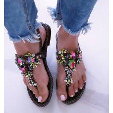 Sandale Paris crne