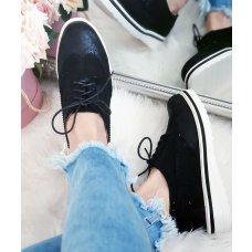 Cipele oksfordice Marija crne