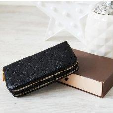 Novčanik crni s uzorkom