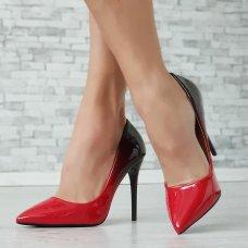 Cipele Mrs. crveno crne