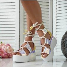 Sandale Perla neon žute