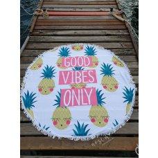 Ručnik za plažu Good vibes