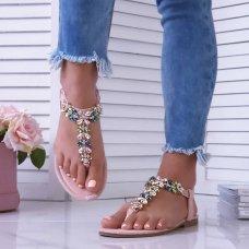 Sandale Shanti roze