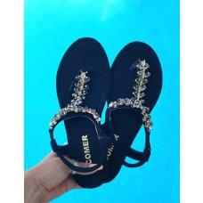 Sandale Shanti crne