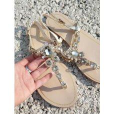 Sandale Bilion zlatne