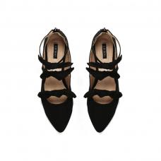 Cipele Bows crne