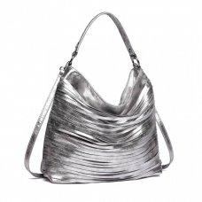 Torba Metal srebrna