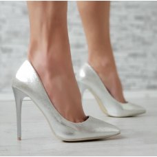 Cipele Shine srebrne