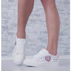 Tenisice sa rozim srcem
