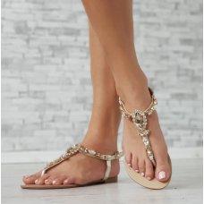Sandale Rocks zlatne